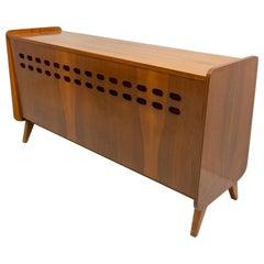 Mid-Century Modern Walnut Dresser by František Jirák, 1960s, Czechoslovakia