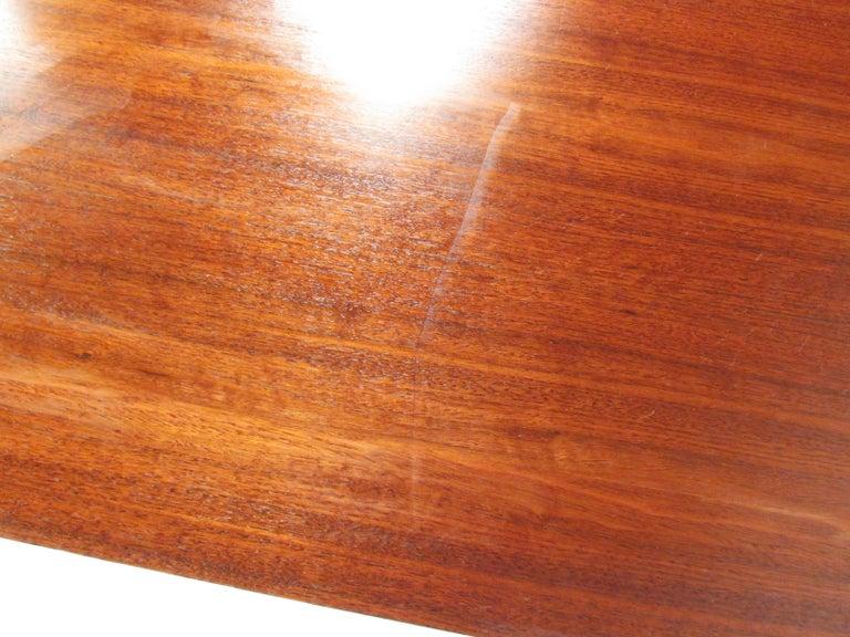 Mid-Century Modern Walnut Dresser For Sale 8