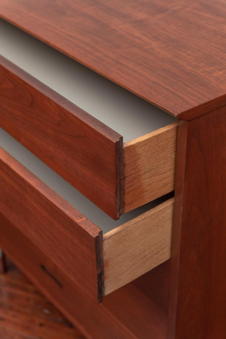 Mid-Century Modern Walnut Dresser In Good Condition For Sale In San Francisco, CA