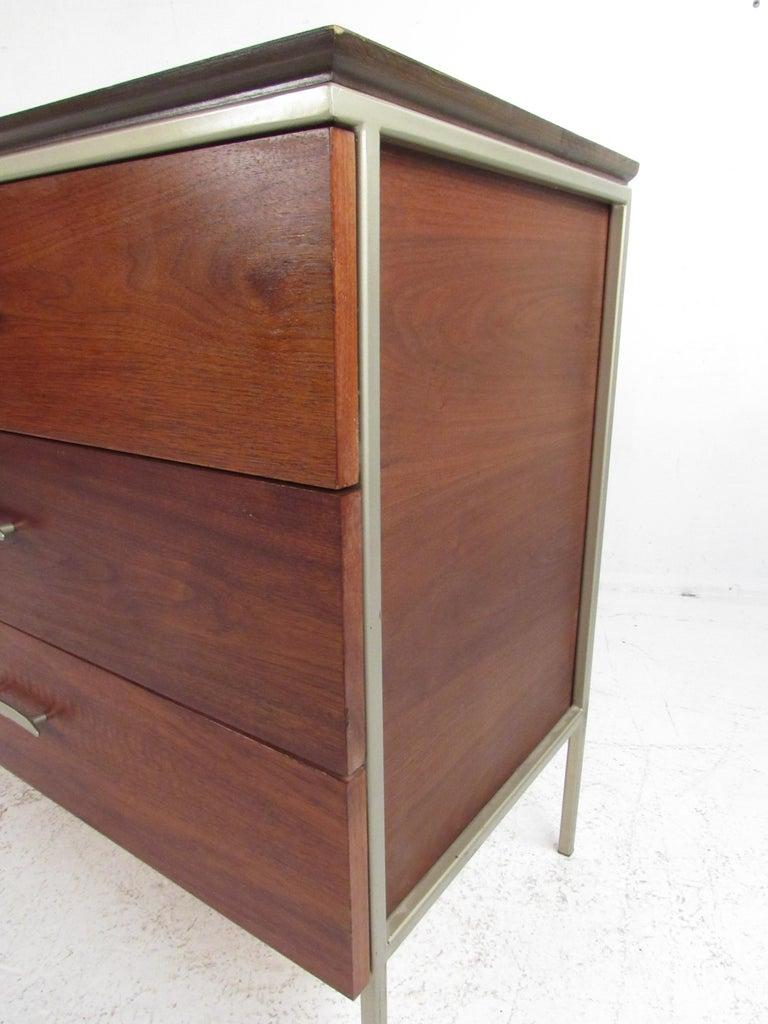 Mid-20th Century Mid-Century Modern Walnut Dresser For Sale