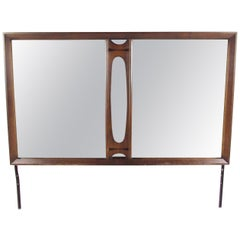 Mid Century Hollywood Regency Gilded Bamboo Mirror At 1stdibs