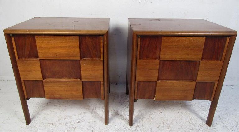 Late 20th Century Mid-Century Modern Walnut Edmond Spence Bedroom Set For Sale