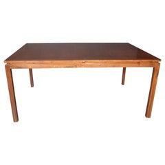 Mid-Century Modern Walnut Handrubbed Walnut Table by Edward Wormley for Dunbar