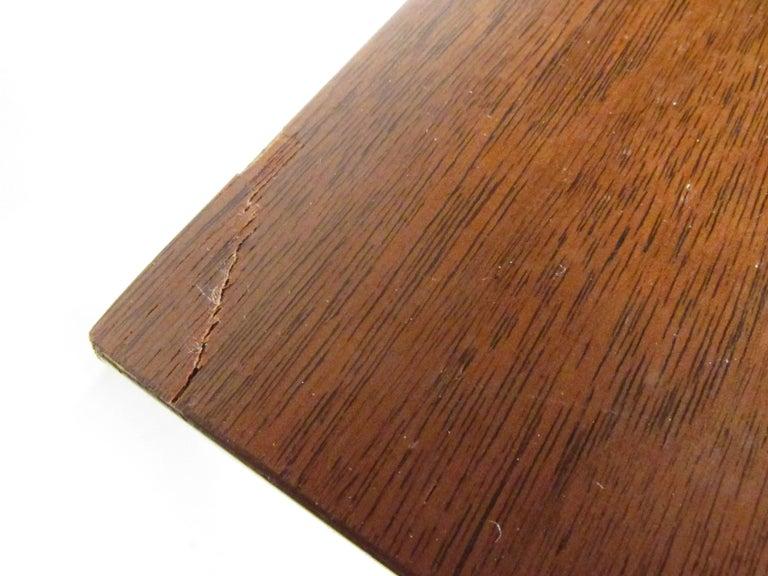 Mid-Century Modern Walnut Highboy Dresser For Sale 8