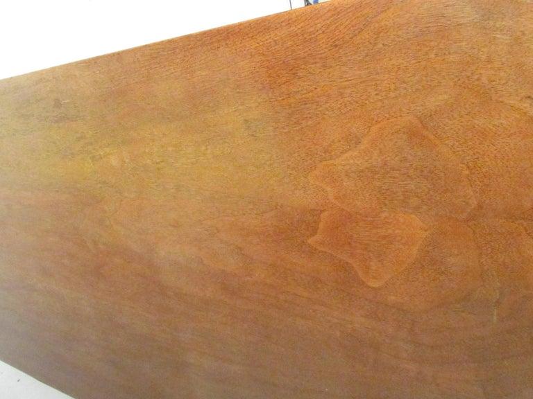 Mid-Century Modern Walnut Highboy Dresser For Sale 10