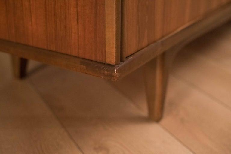 Mid-Century Modern Langstrom Walnut Dresser For Sale 8