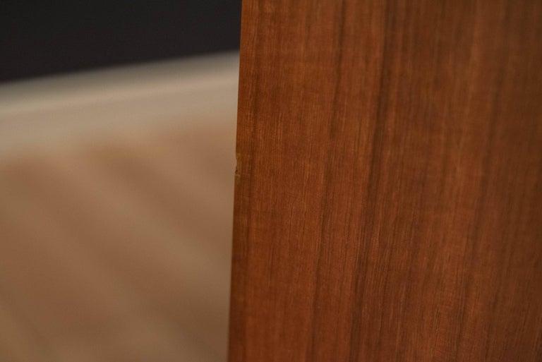Mid-Century Modern Langstrom Walnut Dresser For Sale 9