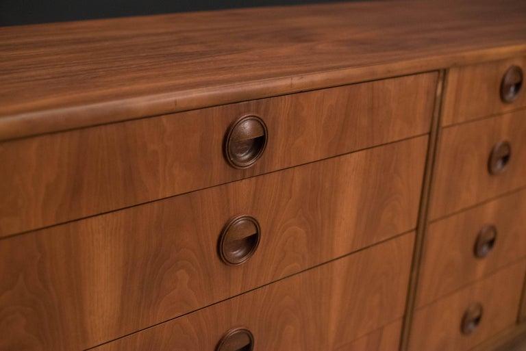 Mid-20th Century Mid-Century Modern Langstrom Walnut Dresser For Sale