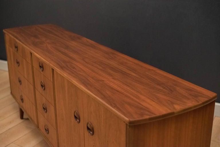 Mid-Century Modern Langstrom Walnut Dresser For Sale 1