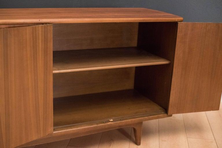 Mid-Century Modern Langstrom Walnut Dresser For Sale 3