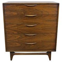 Mid-Century Modern Warren Church for Lane Perception Tall Chest of Drawers