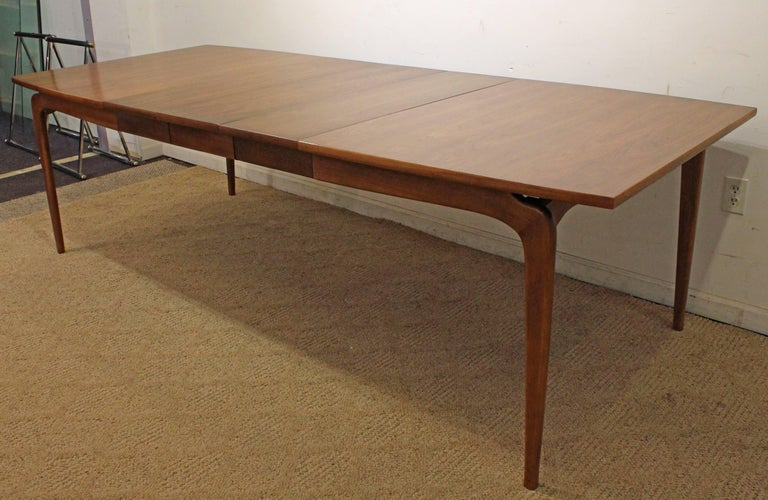 Mid 20th Century Modern Warren Church Lane Perception Extension Dining Table For