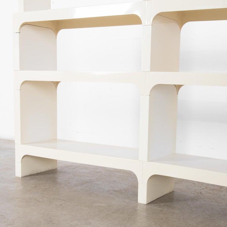 Mid-Century Modern White Modular Shelves by Olaf von Bohr 4