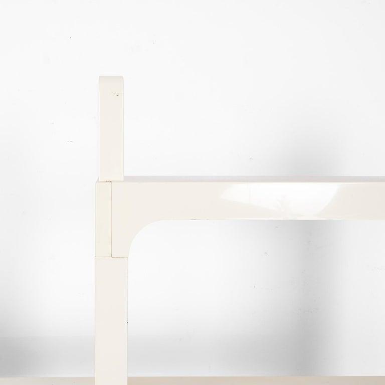 Late 20th Century Mid-Century Modern White Modular Shelves by Olaf von Bohr
