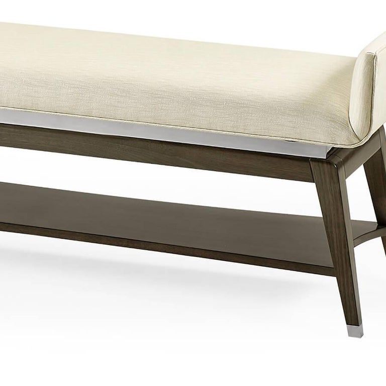 Mid-Century Modern Window Bench In New Condition For Sale In Port Chester, NY