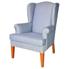 Mid-Century Modern Wingback Chair