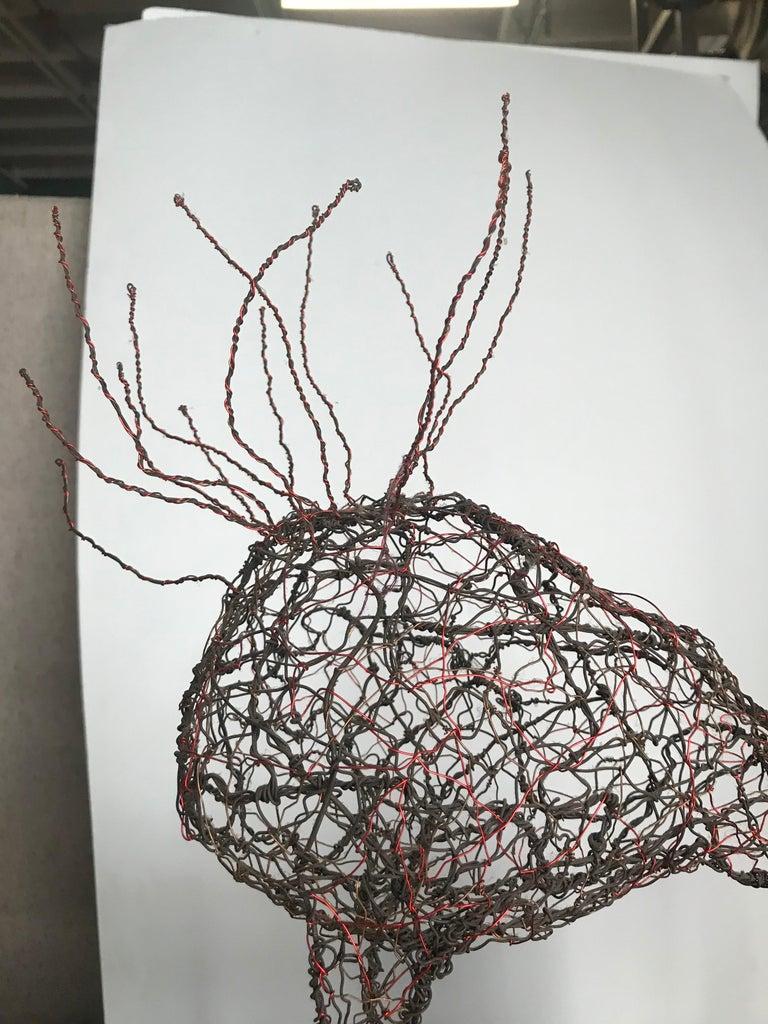 Mid-Century Modern Wire Sculpture