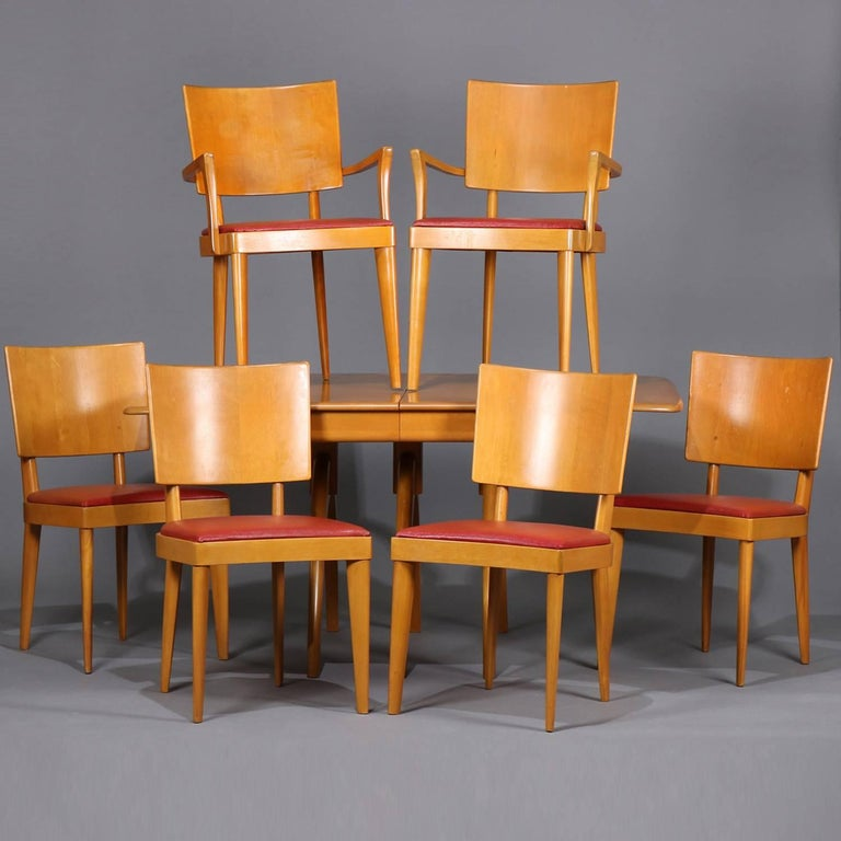 Mid Century Modern Wishbone Dining Table Set By Heywood Wakefield