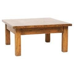 Mid-Century Modern Wood Rustic Table, circa 1950