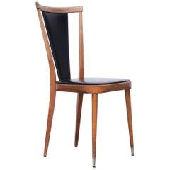 Mid-Century Modern Wood Vintage Chair, circa 1950