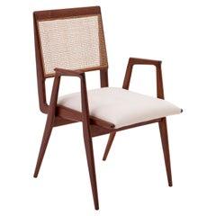 Mid-Century Modern Wooden Armchair in by Martin Eisler & Carlo Hauner, 1955
