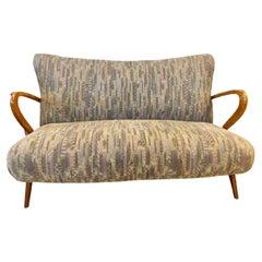Mid-Century Modern Z canape sofa.