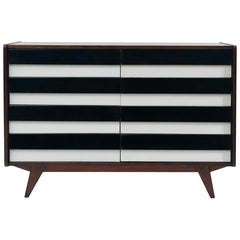 Mid-Century Modernist Chest of Drawers No U-453, by Jiří Jiroutek, Czechoslovak