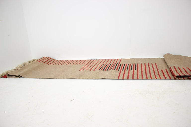 Mid-20th Century Midcentury Modernist Geometric Abstract Carpet / Rug, 1960s For Sale