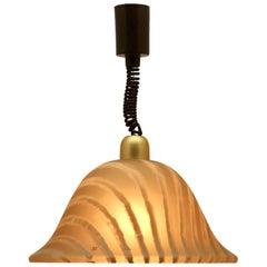 Mid-Century Modernist German, 1960s Pendant Lamp by Peill & Putzler