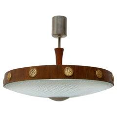 Mid-Century Modernist Space-Age Pendant Lamp, Czechoslovakia, 1960´s
