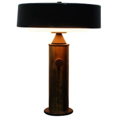 Mid-Century Modernist Torlasco Metal Perspex Table Lamp for Lumi, Italy 1960s