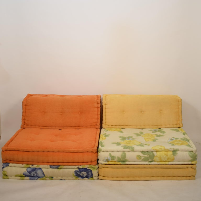 Midcentury Modular Sofa Mah Jong by Hans Hopfer for Roche Bobois, France, 1995 2