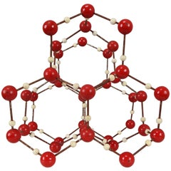 Mid-Century Molecular Structure for Didactic Purposes Made in the 1950s