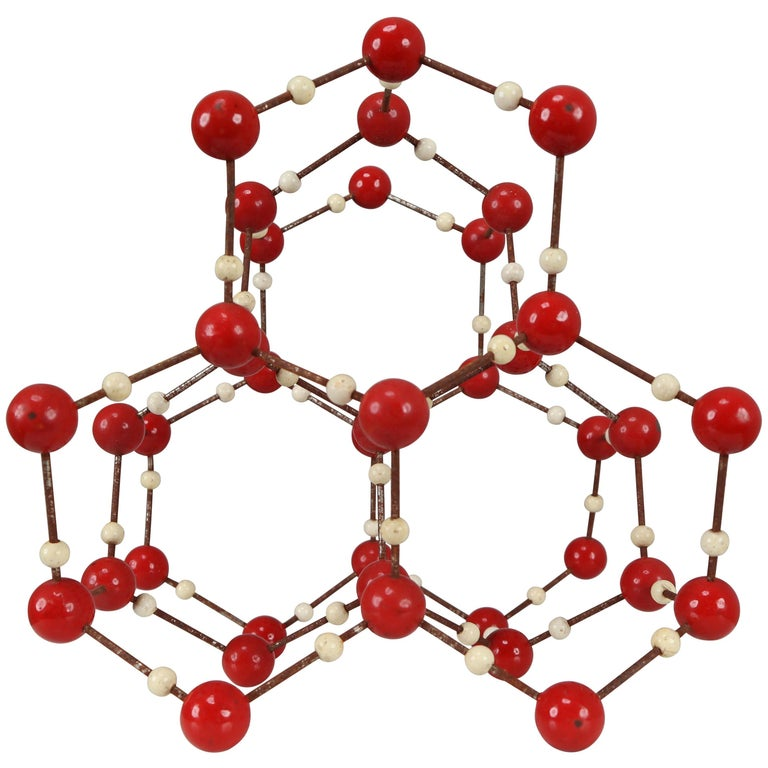 Mid-Century Molecular Structure for Didactic Purposes Made in the 1950s For Sale