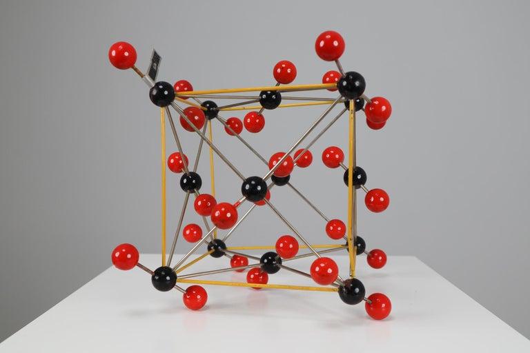 Mid-Century Modern Mid-Century Molecular Structure of