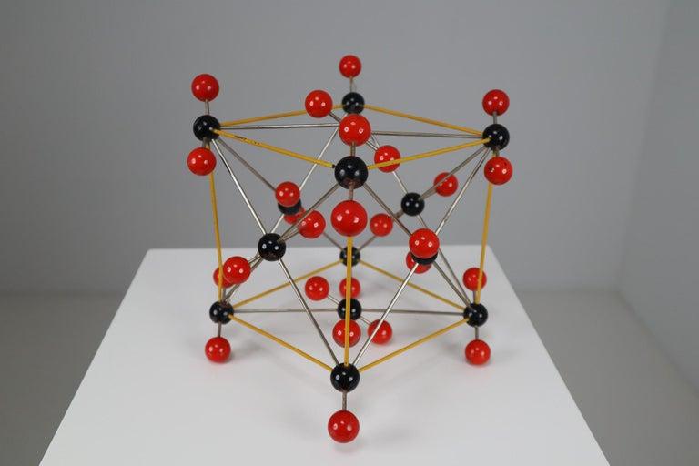 Czech Mid-Century Molecular Structure of