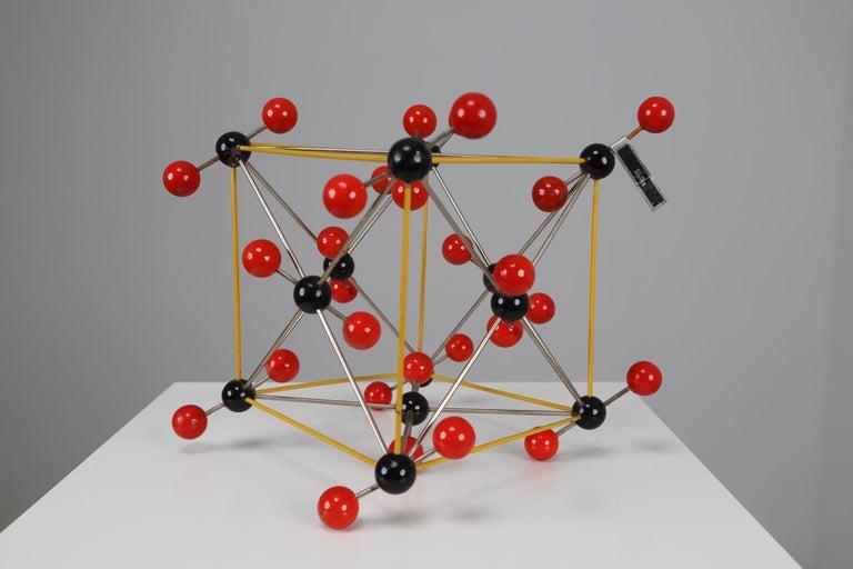 20th Century Mid-Century Molecular Structure of