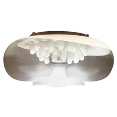 Mid-Century Murano Art Glass Flush Fixture by Carlo Nason for Mazzega