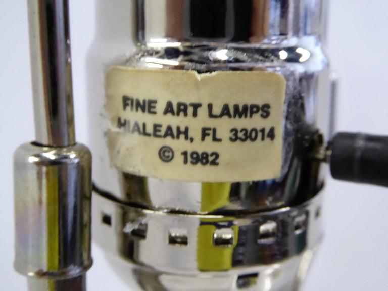 Midcentury Murano Art Glass Lamp with Inner Light For Sale 8