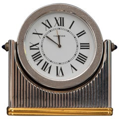 Midcentury Must de Cartier Table Clock