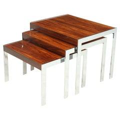 Mid century Nest of tables by Merrow Associates