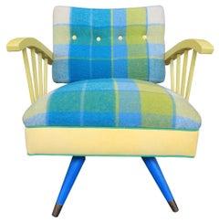 Midcentury Newly Upholstered Hermitage Cabinet Shop Nashville Rocking Chair