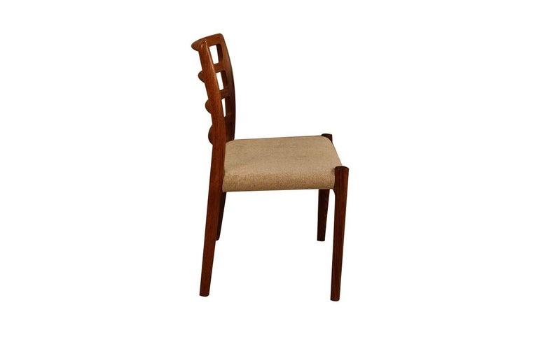 Mid-Century Modern Midcentury Niels Otto Moller Model 85 Rosewood Dining Chairs For Sale