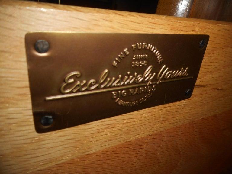 Veneer Midcentury Nightstands by Big Rapids Furniture Co., a Pair For Sale