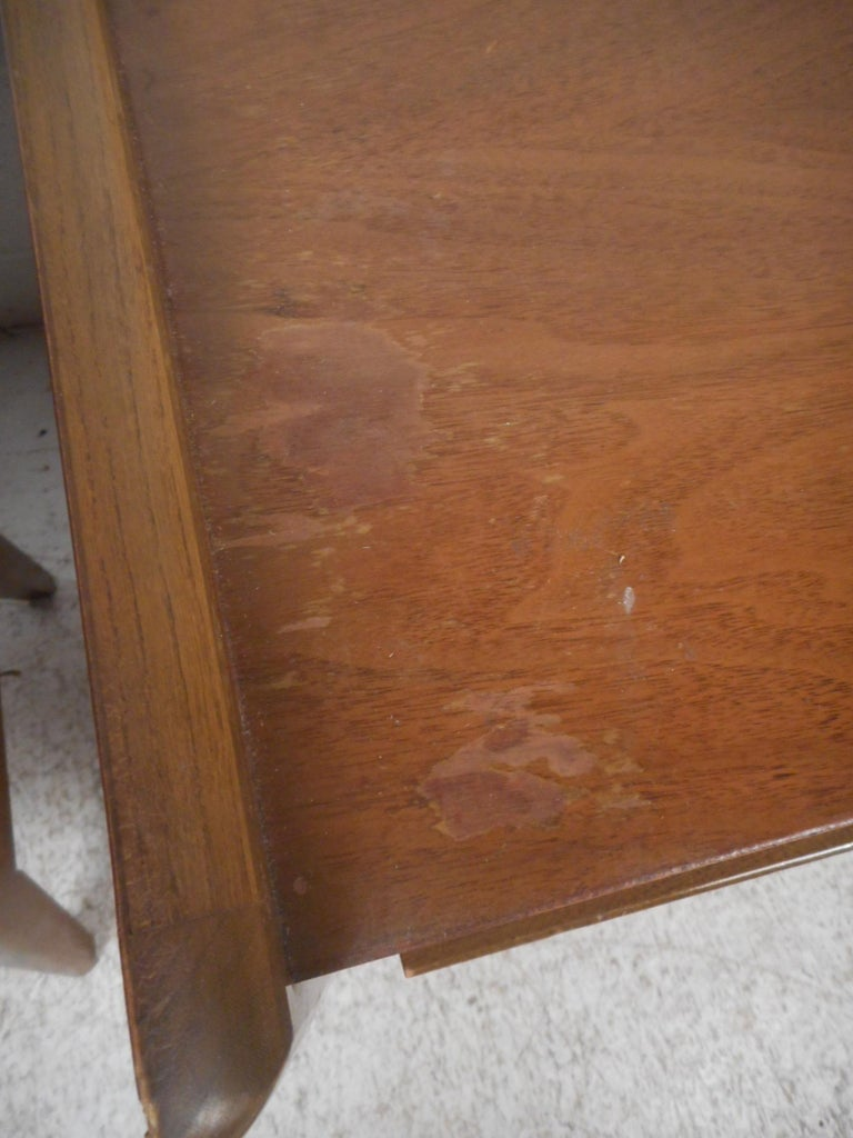 20th Century Midcentury Nightstands by Big Rapids Furniture Co., a Pair For Sale