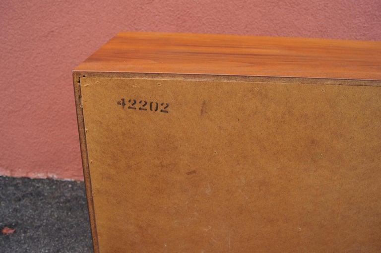 Mid-Century Nine-Drawer Teak Dresser For Sale 5