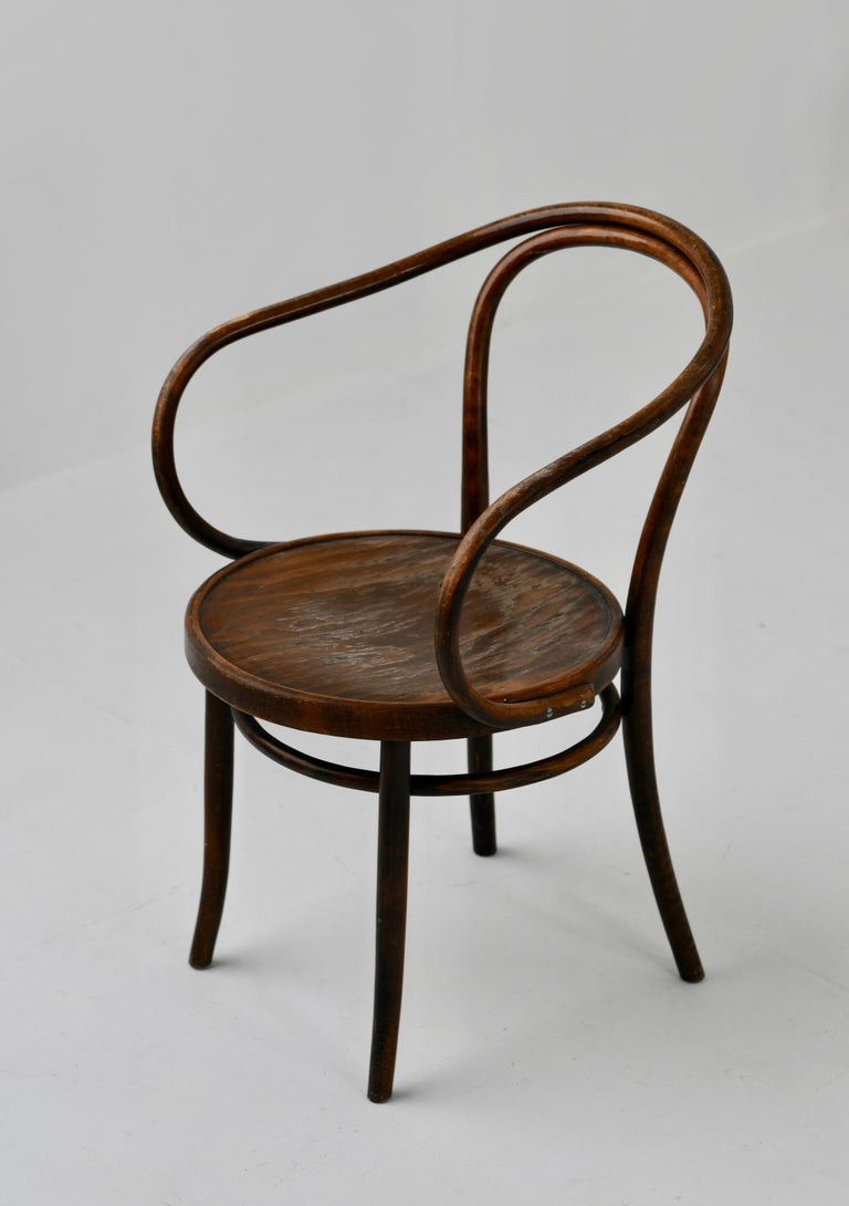 Czech Midcentury No. B9 / 209 Chair For Sale