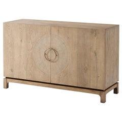 Midcentury Oak Cabinet