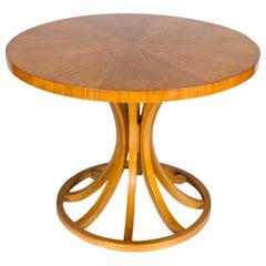 Midcentury Oak Center Table