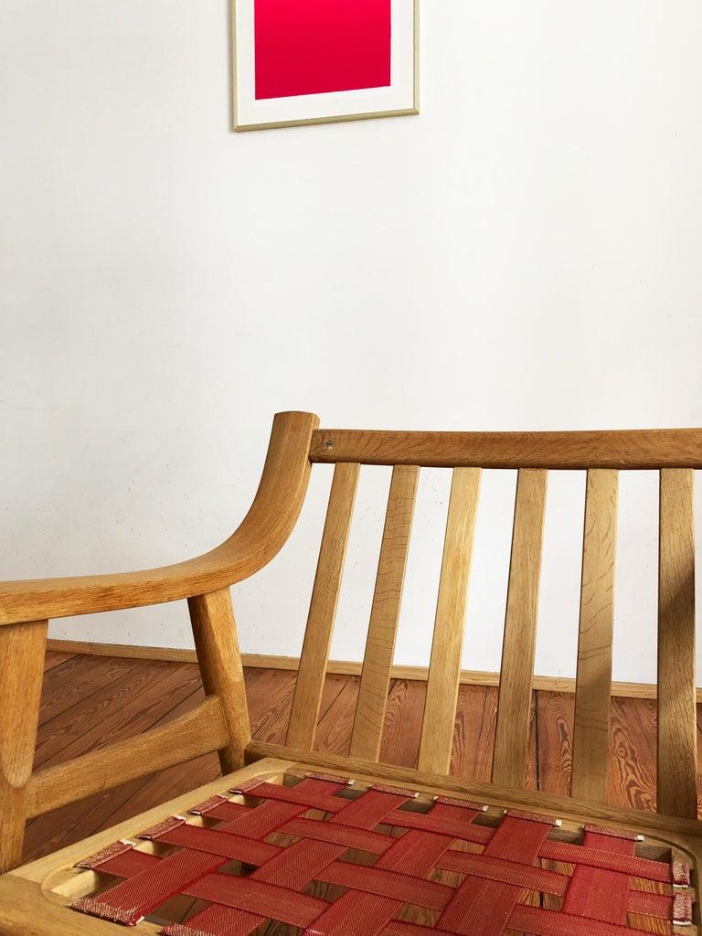 Midcentury Oak Sofa Model 530 by Hans Wegner for GETAMA For Sale 3